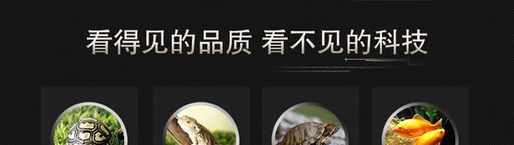 La tortuga lagarto reptil la lámpara de calor a temperatura constante la temperatura de la Plataforma de equipos de control de calefacción de agua temperatura de caja de los reptiles
