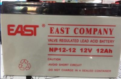 EAST EAST12V12AhNP12-12UPS/EPS battery maintenance free lead-acid battery