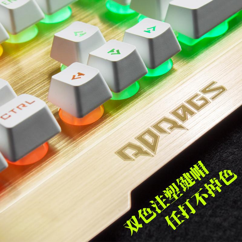 Клавиатура и мышь костюм машин светящихся интернет - кафе, ключи чувствовать приостановление крыс компьютер CFLOI usb проводной интернет - кафе