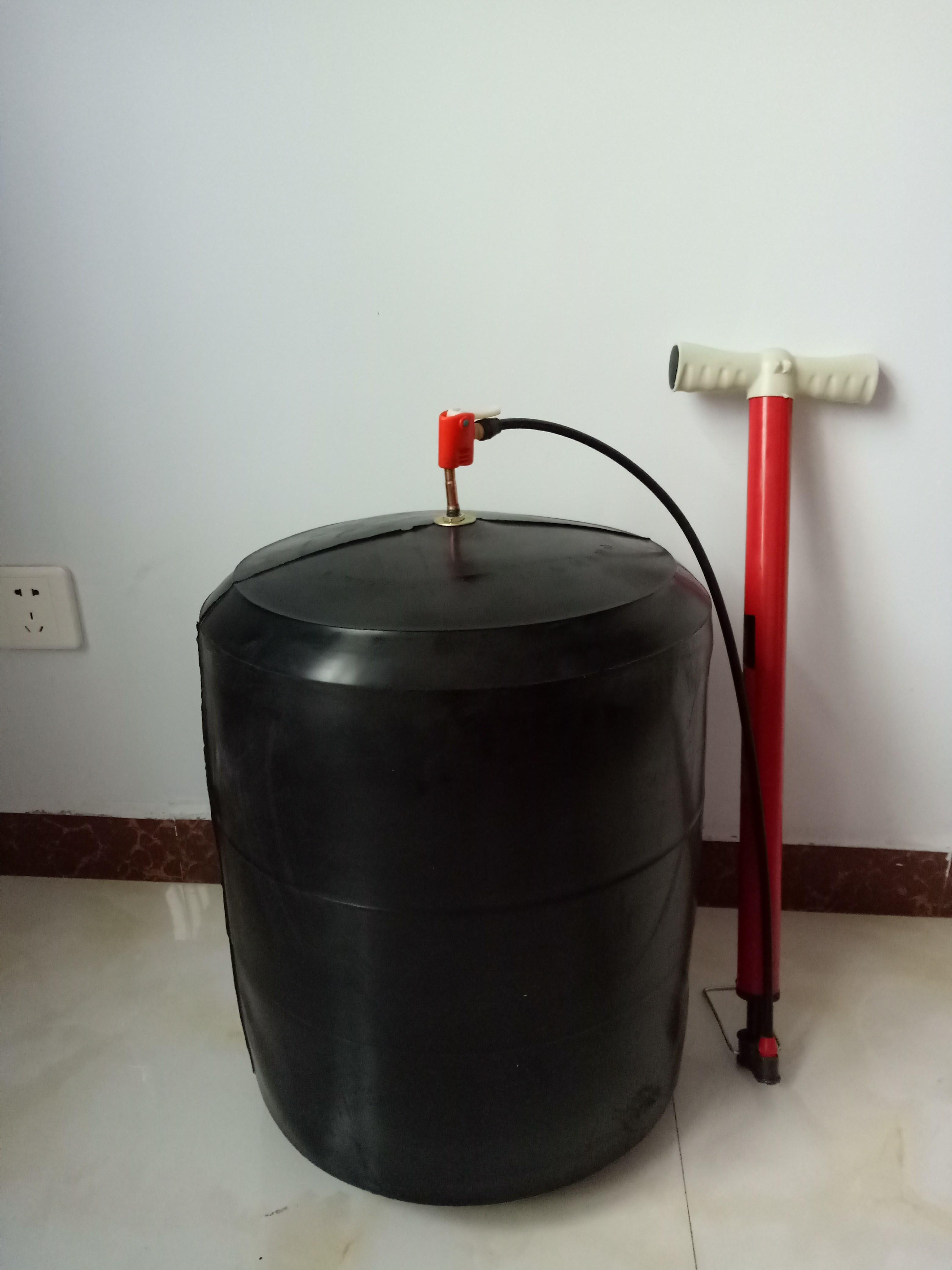 La prueba de presión de las tuberías de agua de 300 drenaje biliar vejiga de Goma inflable pelota agua tapar el tapón de Airbag