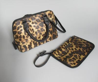 出口包包尾货经典豹纹包包斜挎包单肩包女包手提包小包