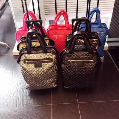 欧洲站新款拉杆箱20寸短途旅行包行李袋拉杆手提二合一防水包邮