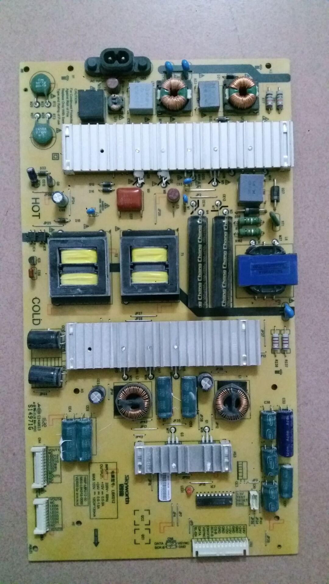 Skyworth LCD TV originele reserveonderdelen stroomaansluiting 5800-L6K012-0000168P-L6K012-00