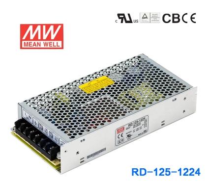 двойной выключатель электропитания на Тайване оригинальные значит хорошо RD-125-1224133W12V24V Лу