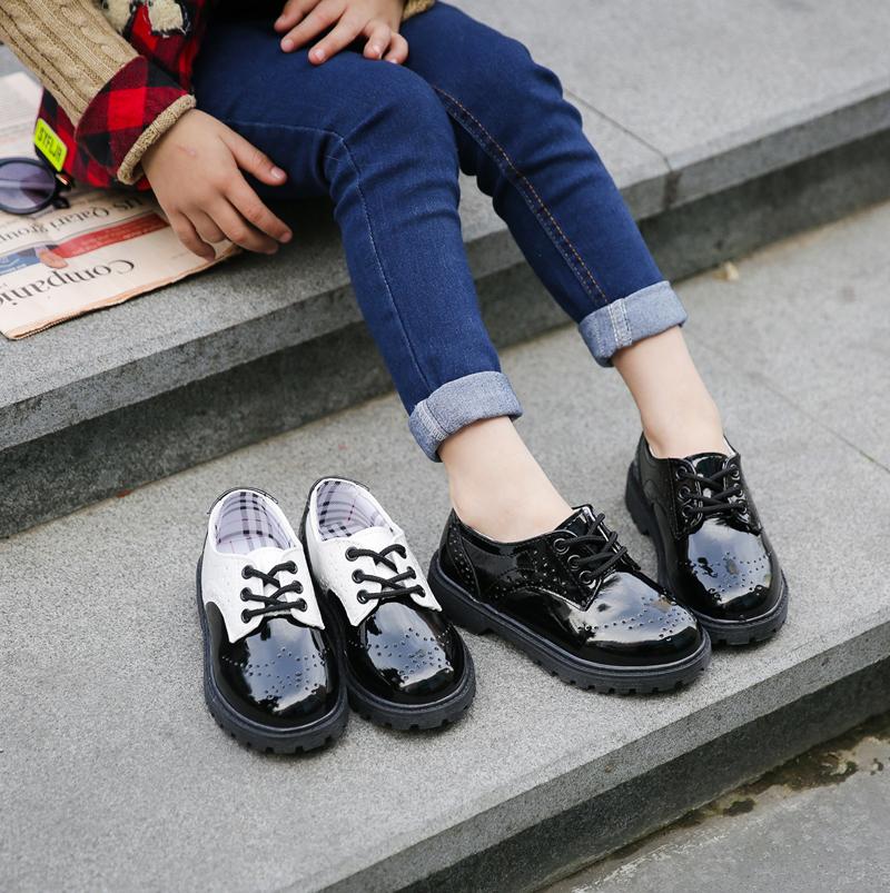 男童皮鞋2017新款