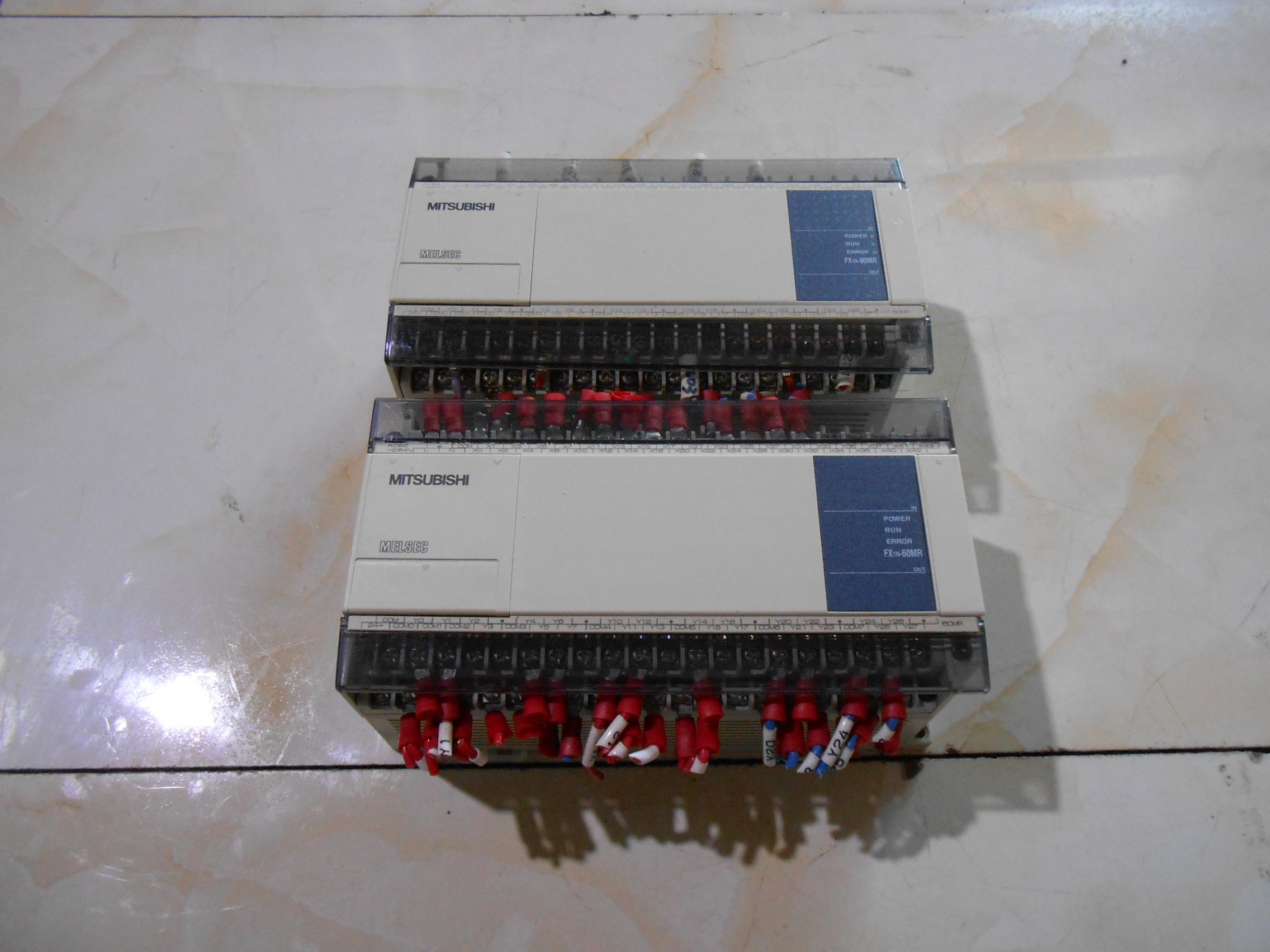 中古GEMAXの三菱PLCFX1N-60MR-001実物図引合代購