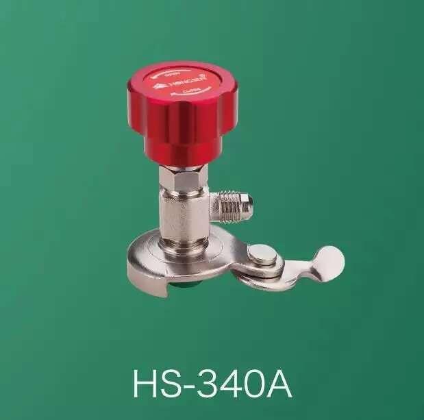 สารทำความเย็นสารทำความเย็น hs-340A เทศบาลชองฮวาไต้หวันนายหอมฉานเปิดขวดเปิดขวด R134r12R22R410R600a ทั่วไปวาล์ววาล์ว