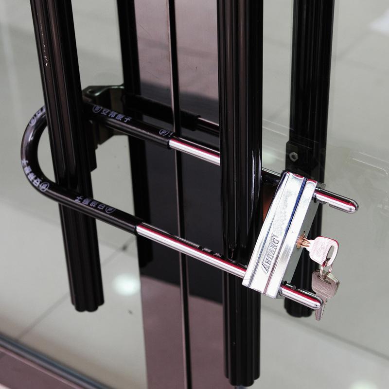 u型ロックドアロックを電気自動車ガラスロックにロックバイクロック抗油圧切りロック倉庫ドアロック