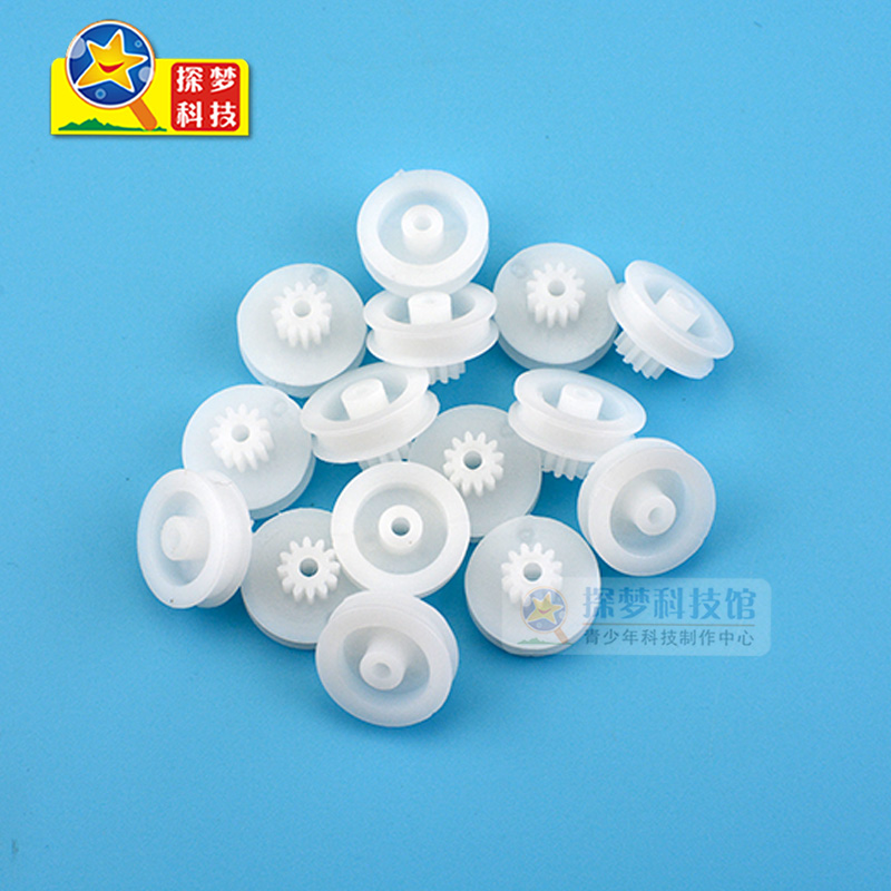 The new gear belt wheel 15.5mm*2.05 plastic pulley pulley gear accessories strap 5 Pack