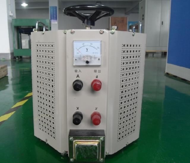 Output 0-500V adjustable voltage regulator, TDGC2J-10Kva contact voltage regulator, old type 10KW