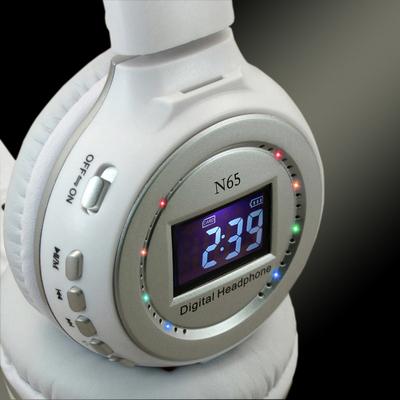 狂热者 N65头戴式插卡蓝牙耳机立体声mp3电脑手机4.0无线游戏耳麦