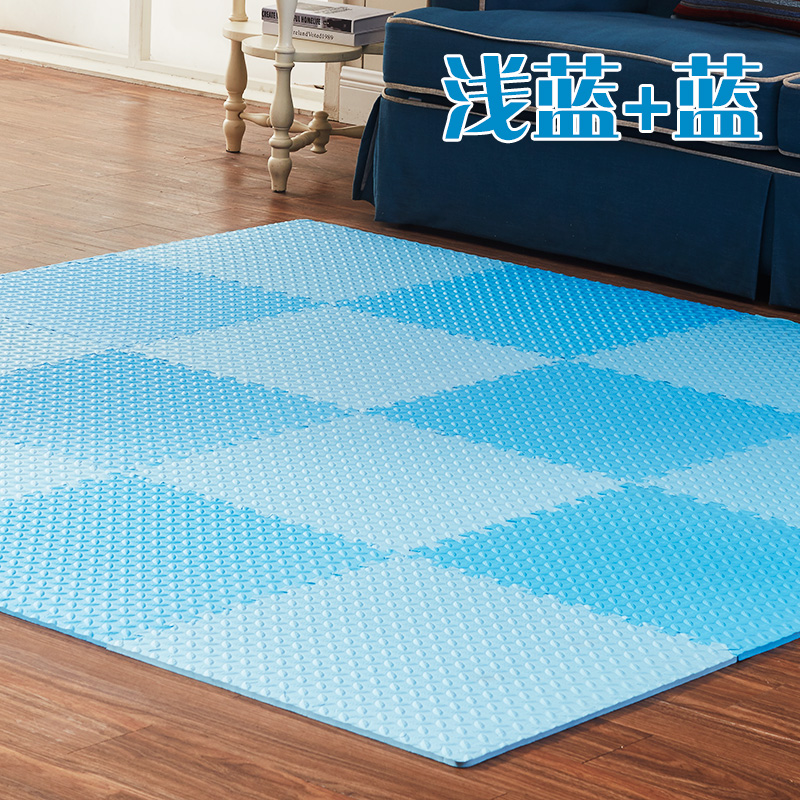 Baby bubble pad thickening pad stitching large crawling puzzle mats bedroom floor mat tatami