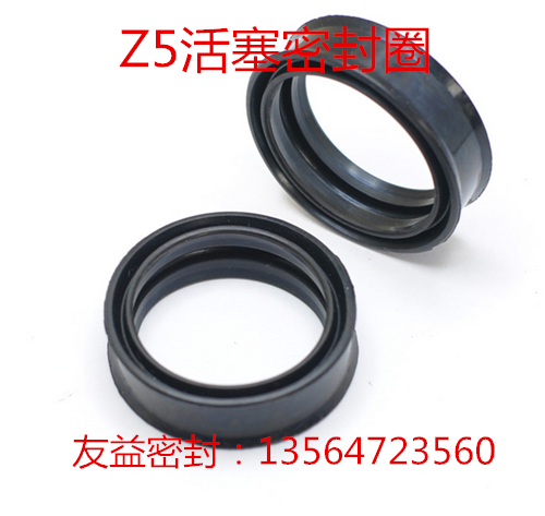 Z5 type pneumatic cylinder piston seal type bidirectional sealing 32/35*25.6/28*12/13 meters
