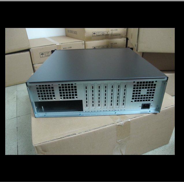 Gói bưu 3U máy phục vụ công nghiệp 3U vỏ máy tính 3U cặp khe cửa sổ khung 3U450 formula 7