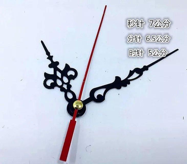 liikumine kella kell nõela nõel osutab ristpiste diy - alumiinium - käe liikumine, kvarts, mees.