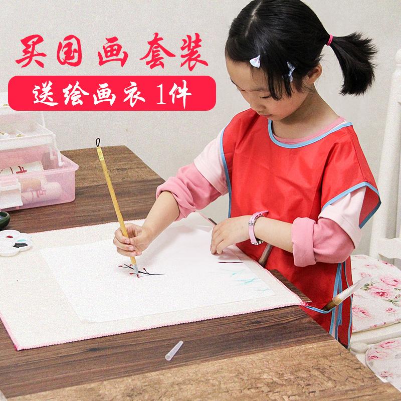 Gli alunni il dipinto cinese per principianti di pennello 兼毫 rivestiti di tutta una serie di dipinti di strumenti Professionali.