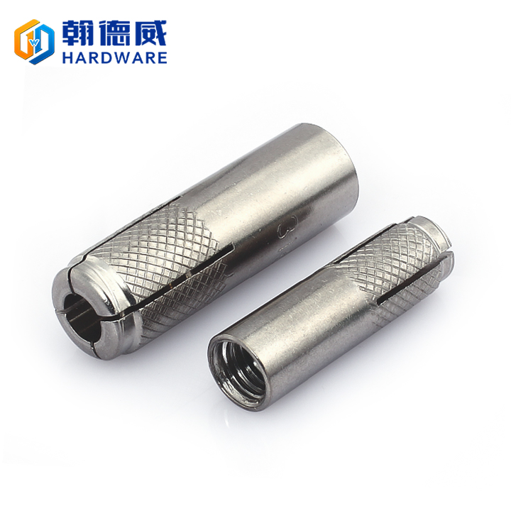 304 stainless steel GB explosion internal forcing house lizard expansion tube flat blow screw M6M8M10M12M16