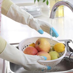 家用洗碗手套厨房加厚橡胶乳胶洗衣衣服防水塑胶胶皮家务耐用冬季