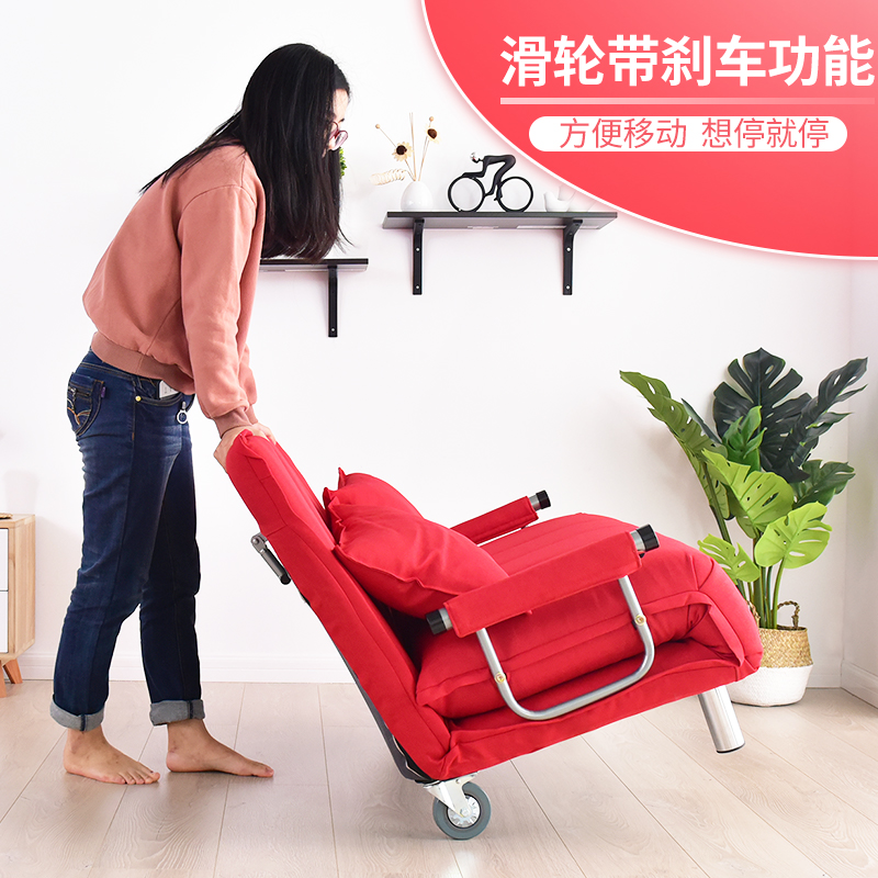 Shipping the new sofa bed is 1.2 meters 1.5 meters large-sized apartment multifunction dual double folding