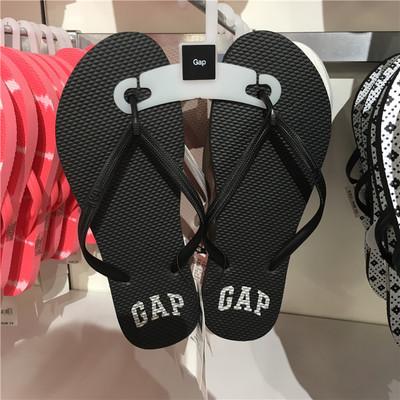 Gap正品专柜代购女士拖鞋夏季新款平底休闲鞋人字拖沙滩鞋394138