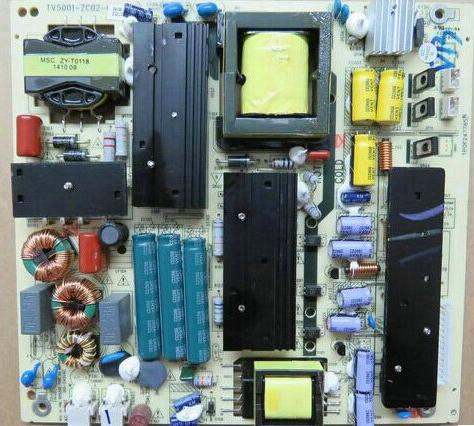Haier LE55D881055 télévision à affichage à cristaux liquides de haute - tension de survoltage d'alimentation de la source de rétroéclairage de la carte de circuit à courant constant.