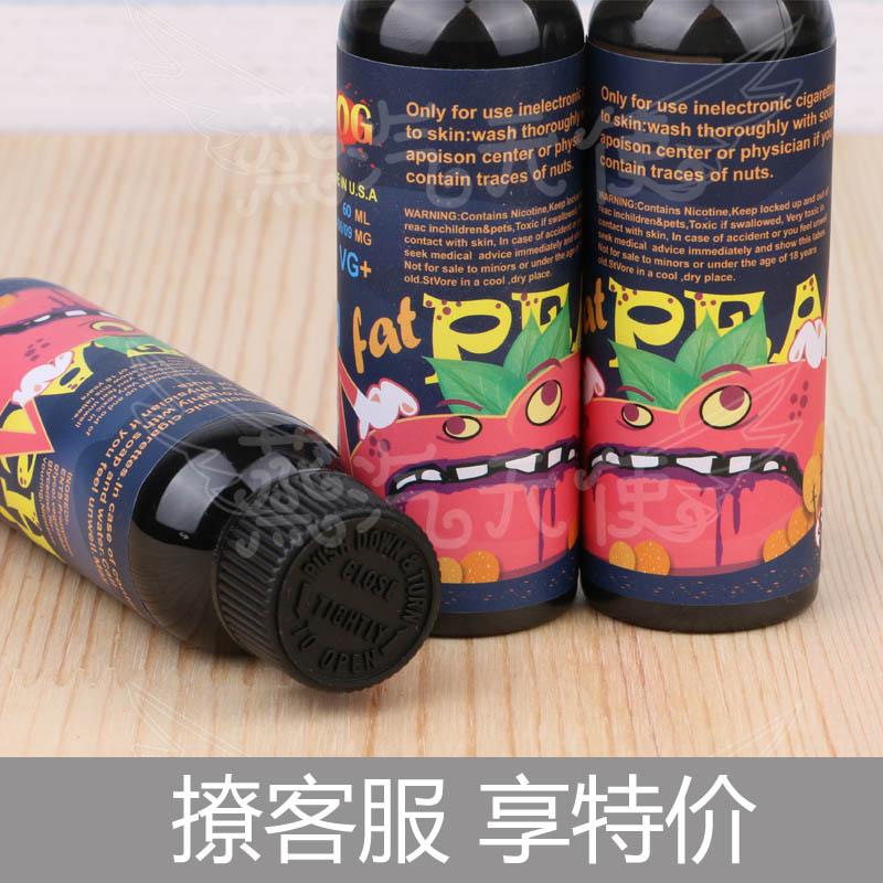 США на импорт Аутентичные противотуманные сумасшедший персик персик вкус табачного дыма электронная сигарета жидкости большой 60ml