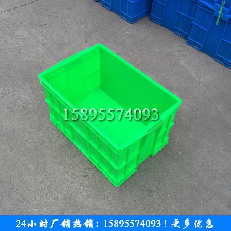 fält rektangulära behållare av plast, röd, gul och blå låda tjockare plast lådor magasin för förvaring av logistiska fält