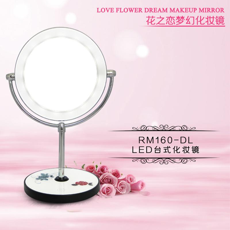 Phết màu trang điểm gương mặt mang kèn tuba gấp 10 lần khuếch đại đèn LED trang điểm cho quà