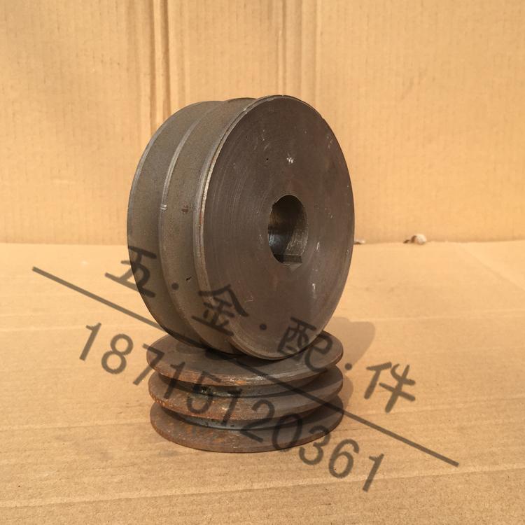 La polea doble ranura de cinturón de hierro de diámetro de disco a la venta directa de la fábrica 2a 60-200mm (plano)