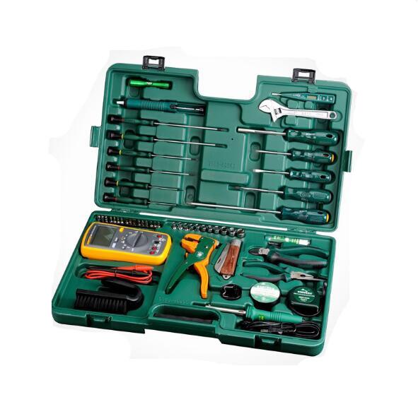 Shida autentico strumento di 53 Telecomunicazioni manutenzione multimeter Electric Iron 09535 montato un coltello elettrico a matita.