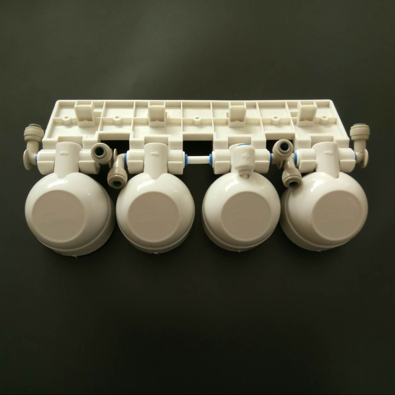 Water purifier filter F1 beautiful full valve headband hanging plate joint containing reverse osmosis membrane valve head