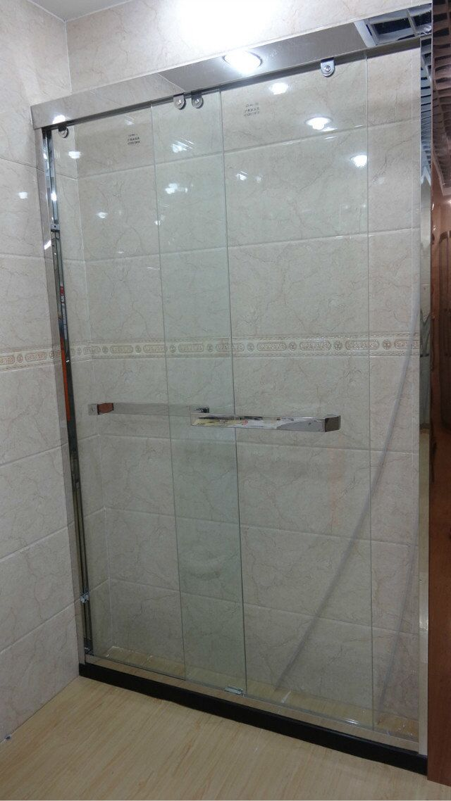 Shanghai aço inoxidável chuveiro Casa de Banho de UMA forma simples de personalizar a tela de partição de Banho de chuveiro