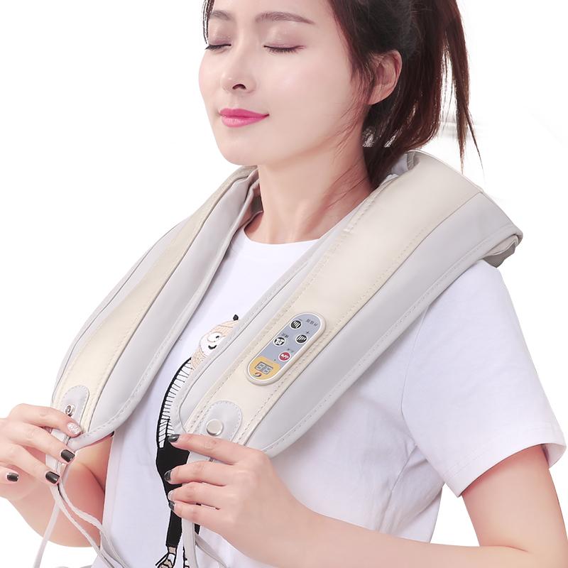 Cape cervicale de malaxage de massage massage du dos de la ceinture d'épaule de massage du cou et de l'épaule de chauffage domestique de cou