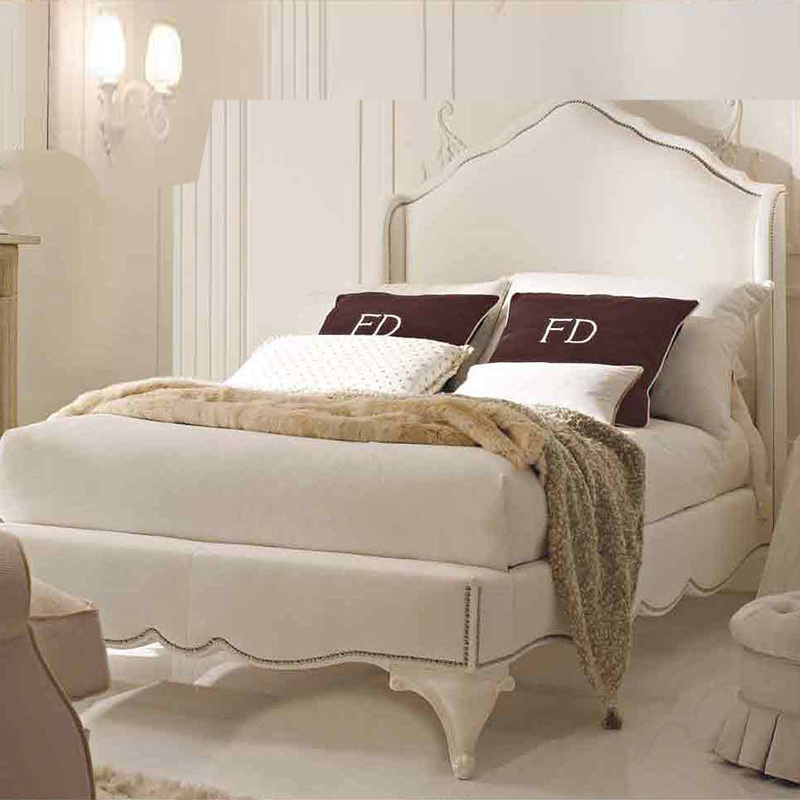 Nordic cloth bed double bed, simple modern bedroom, small apartment cloth bed, pneumatic storage 1.8 meters, 1.5 main bed