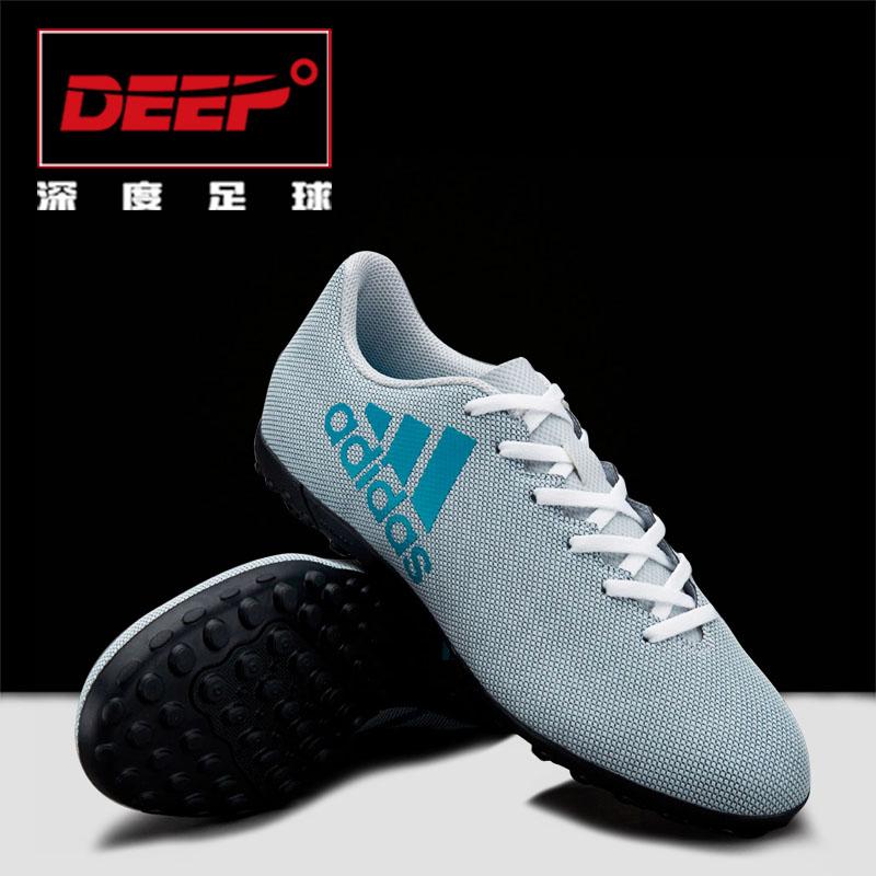 Profundidade de Desporto Adidas x X17.4TF pedaços de grama artificial S82414 Homens sapatos de futebol.