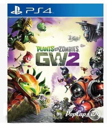 O PS4 used game Plants vs. Zombies garden Warfare 2 O disco novo SEM caixa SEM 9