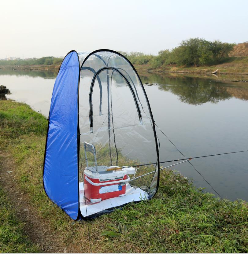 Навес для рыбалки от дождя своими руками