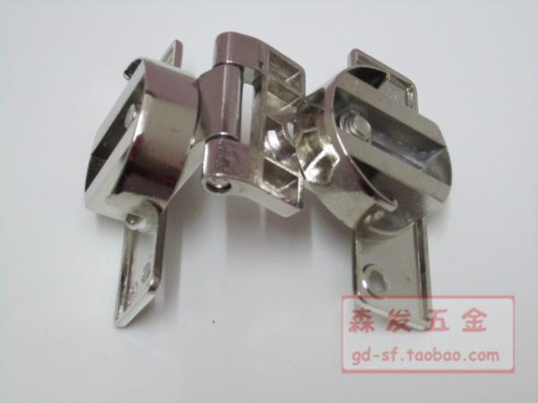 Cuadro bisagra bisagra bisagra de la puerta de bisagra de placa plana conexiones armario mesa plegable.
