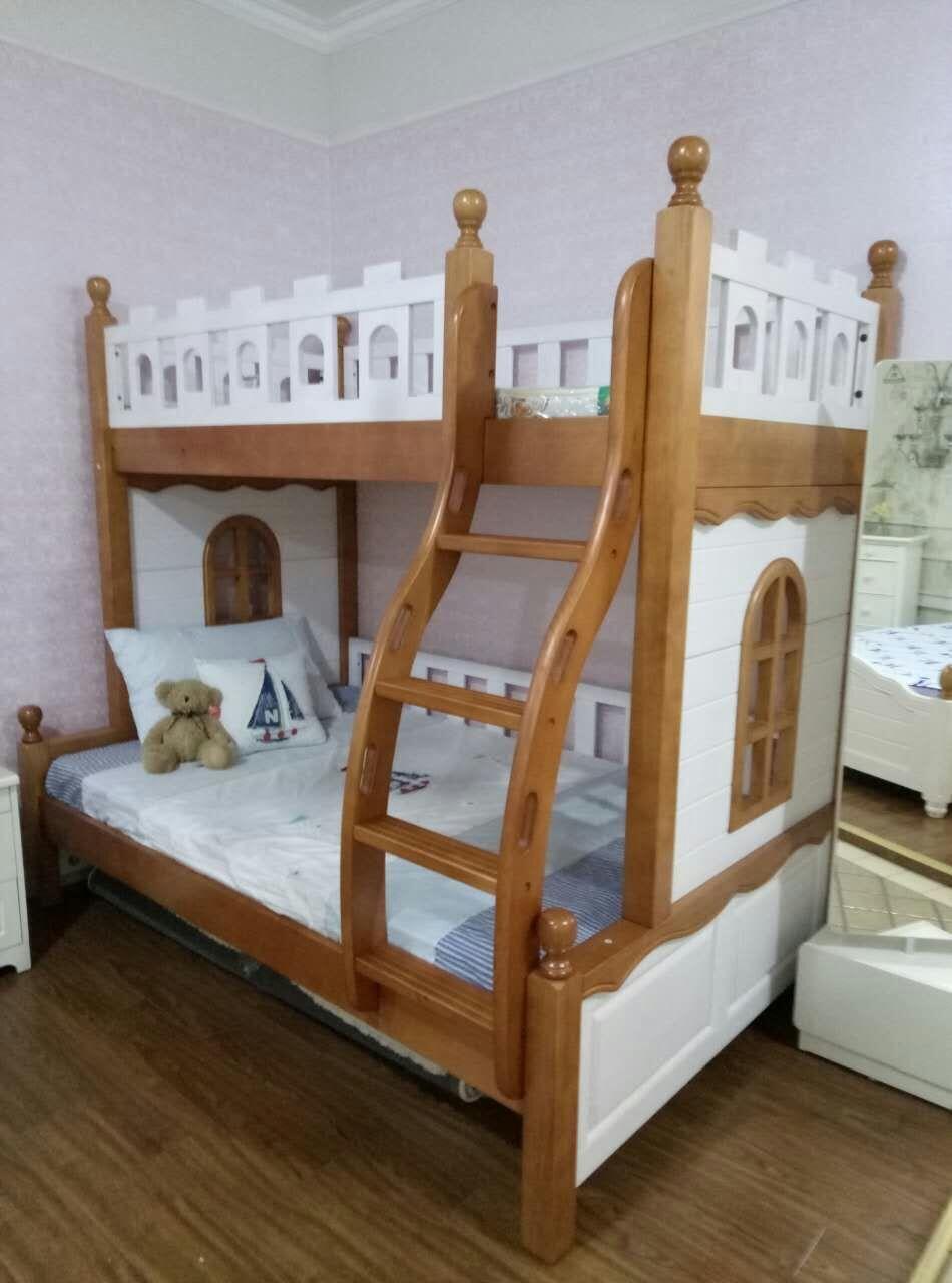 Los niños y adolescentes de América del Norte 拖床 pintura acuosa 1 m 2 literas de madera de 1 m de 35 camas de 1 m de 5 entidades Changsha