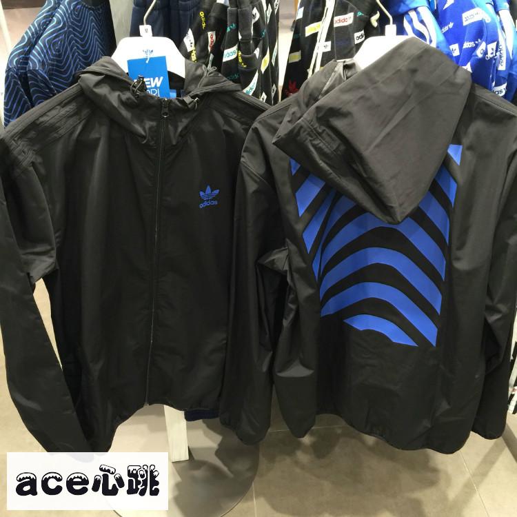 [as] incluso latidos Adidas / Trébol de los hombres: sombrero BK0032BK0031 chaqueta.