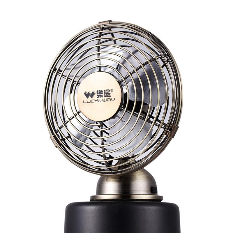 Lotto - fan einen Kleinen USB - Fan - desktop - Stumm retro - studenten - wohnheim der Büro - nachahmung Bronze
