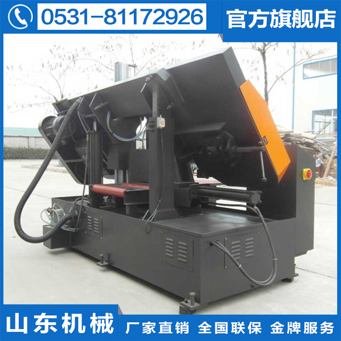 250 CNC band saw at home, G bed plus single column hydraulic new material equipment Z4 saw blade machine