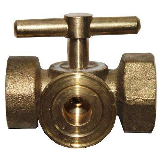 Espessamento de Cobre de Alta pressão medidor de pressão válvula de três vias válvula de 2 vias de -M20x1.5 cock 4