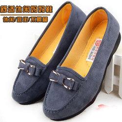 老北京布鞋新款中老年女式上班工作媽媽鞋子淘寶優惠券
