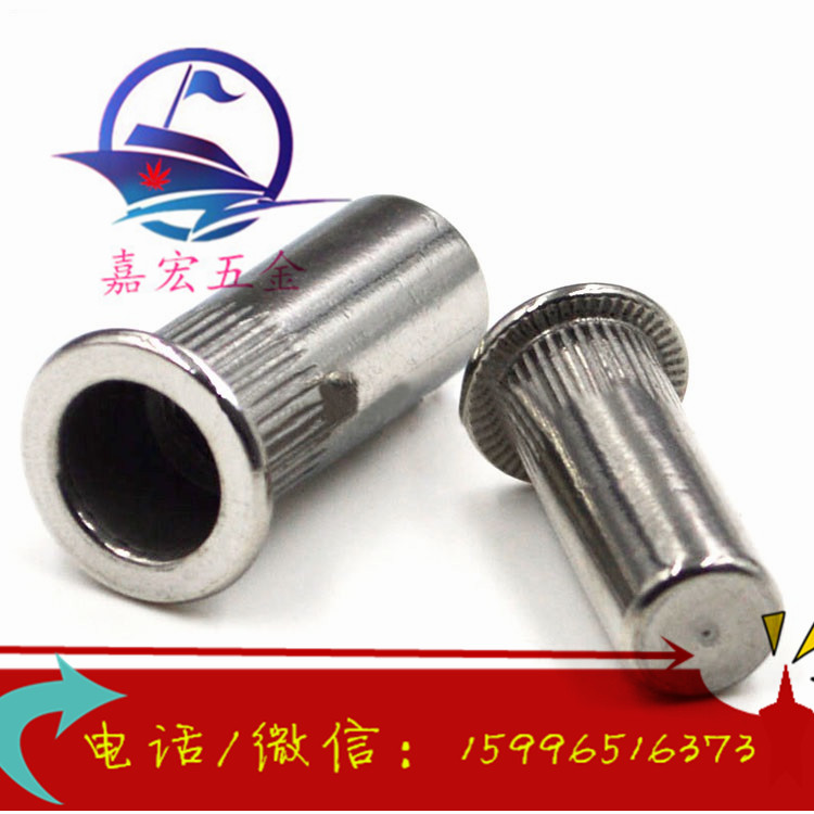 304 stainless steel blind riveting nut stainless steel pulling rivet nut rivet nut pulling riveting mother M4-M10