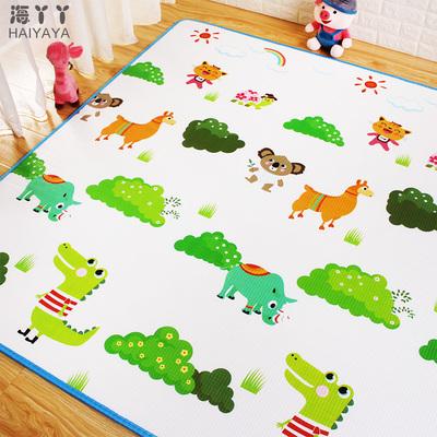 [天天特价]婴儿童宝宝爬行垫加厚 泡沫游戏毯 客厅地垫 爬爬垫2cm