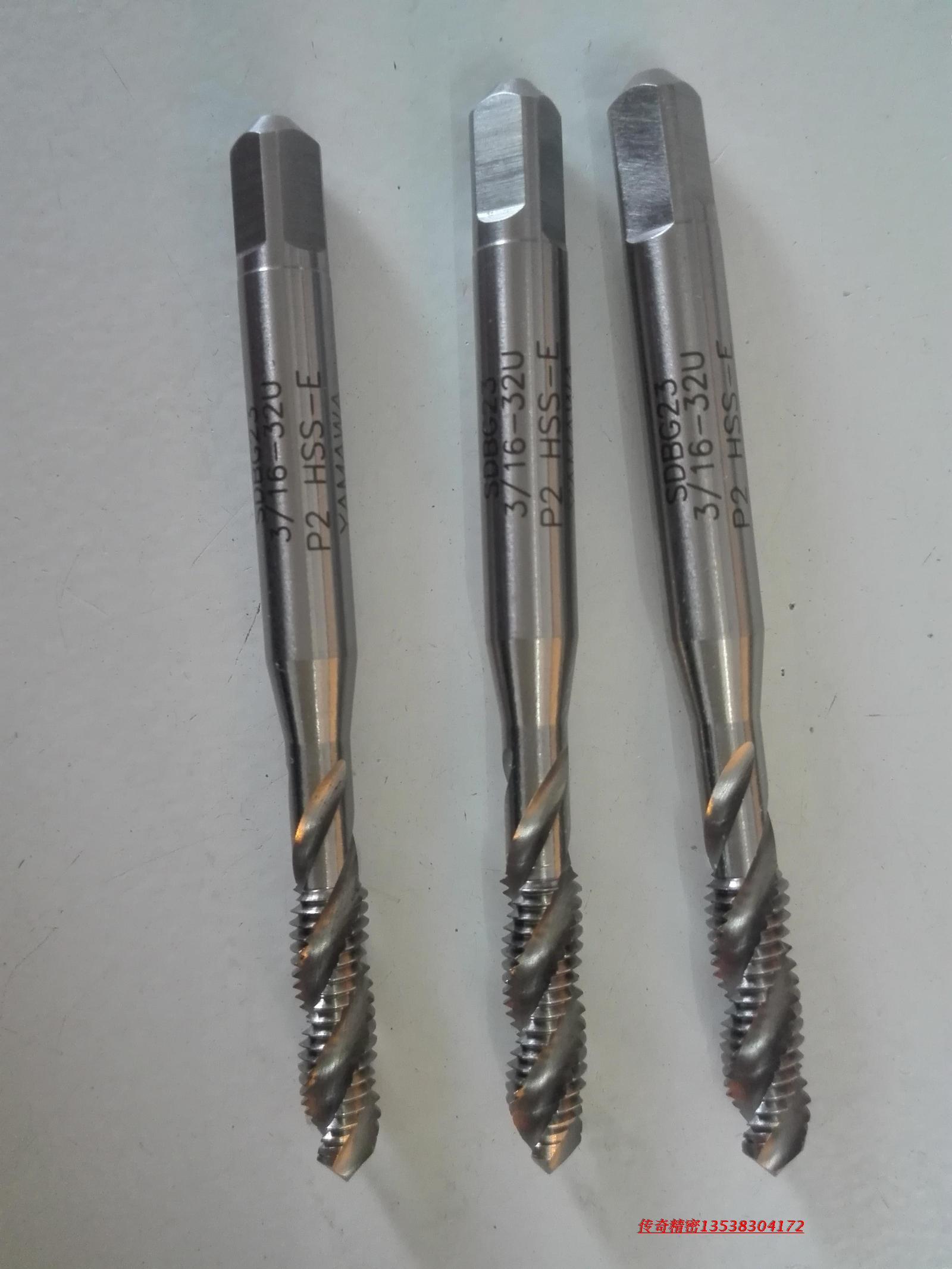 Japan's YAMAWA 3/16-243/16-32 UNJFUNJC made spiral tap tap to increase accuracy