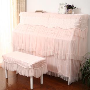 欧式蕾丝钢琴罩全罩 钢琴套防尘罩现代简约钢琴盖布钢琴巾钢琴布