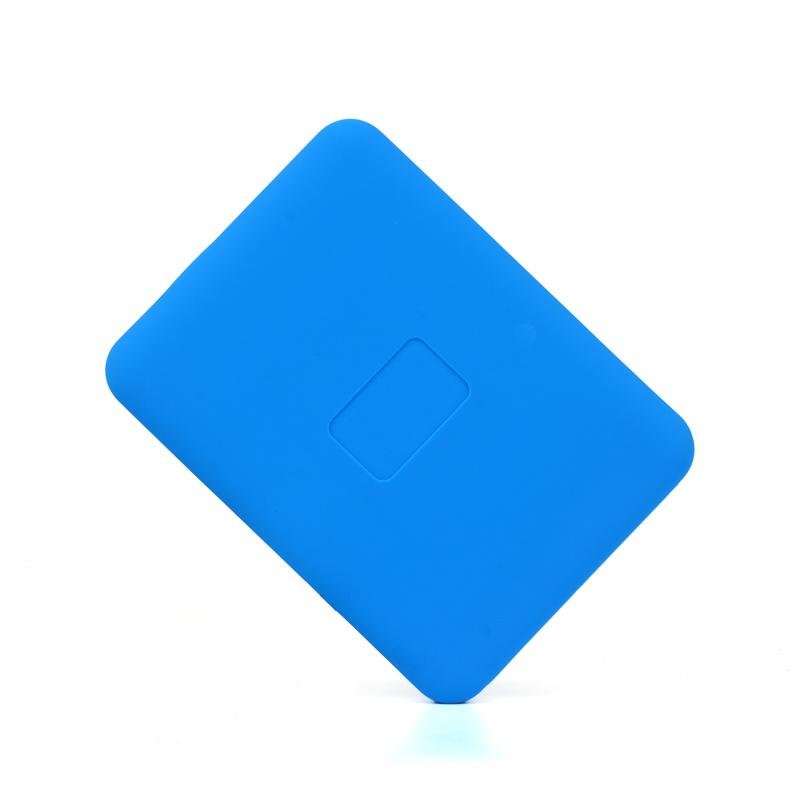 Ensemble de disque de gel de silice de 2,5 pouces WD e de nouveaux éléments anti - chocs anti - chute de gaine de protection de disque dur mobile de disque dur ensemble sac de gel de silice