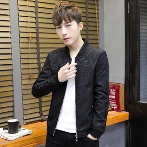 祖玛珑2019春秋季新款夹克男士外套棒球潮流运动服男装休闲